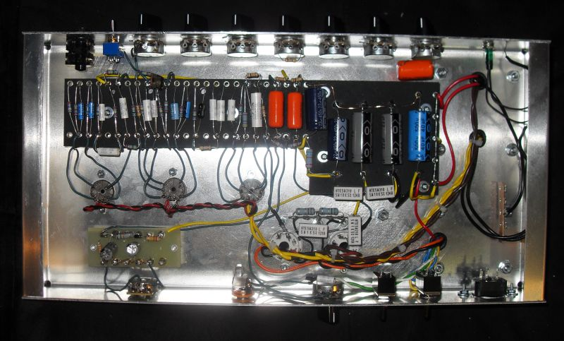making progress on the high gain build dvnator 39 s amp. Black Bedroom Furniture Sets. Home Design Ideas