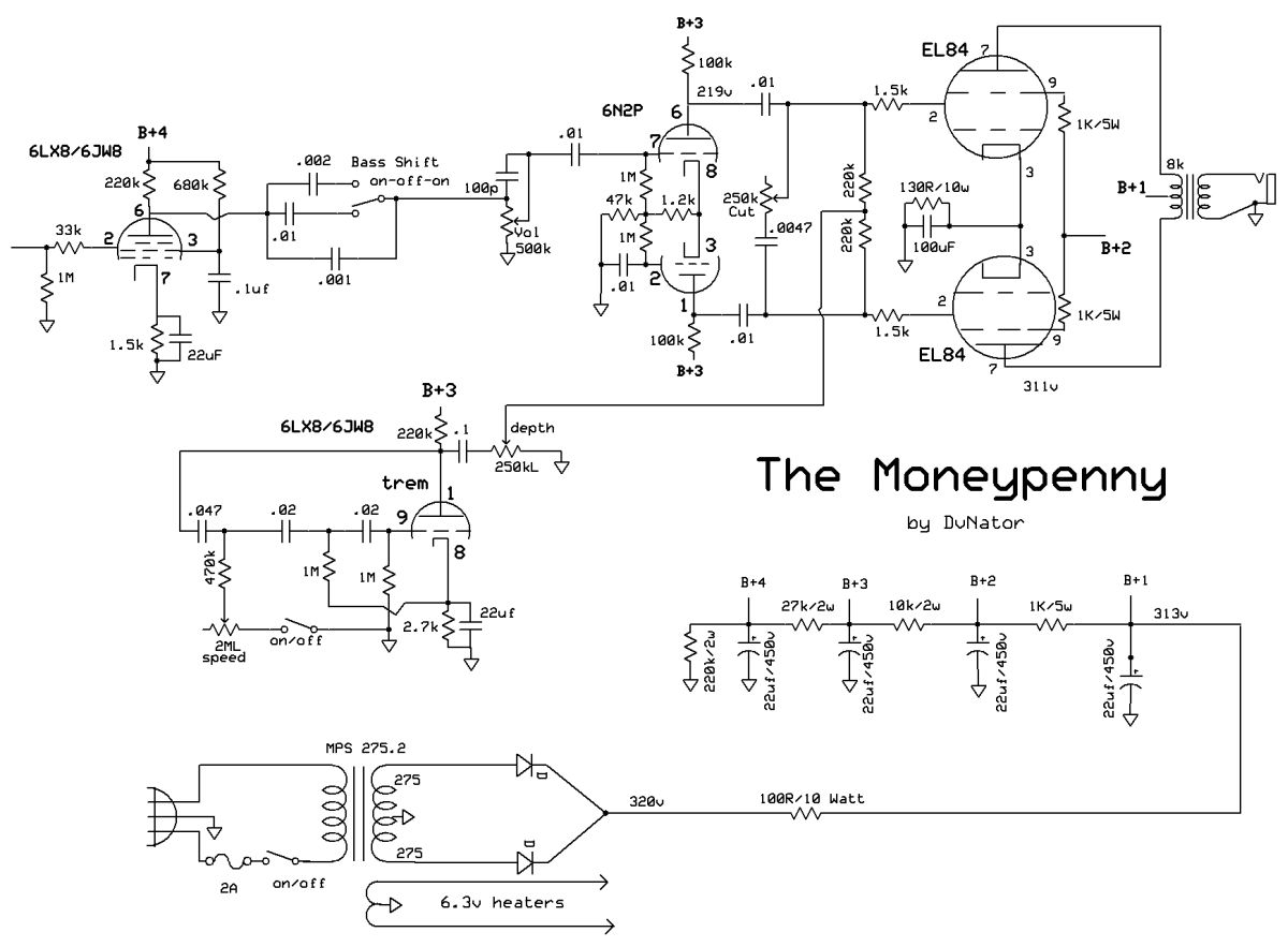 My AC15-ish Schematic – DvNator's Amp Projects on