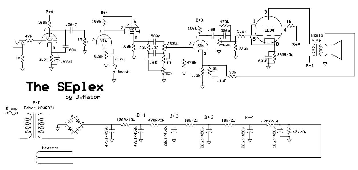 SEplex – DvNator's Amp Projects
