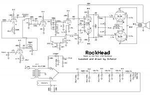park rock head dvnator 39 s amp projects. Black Bedroom Furniture Sets. Home Design Ideas